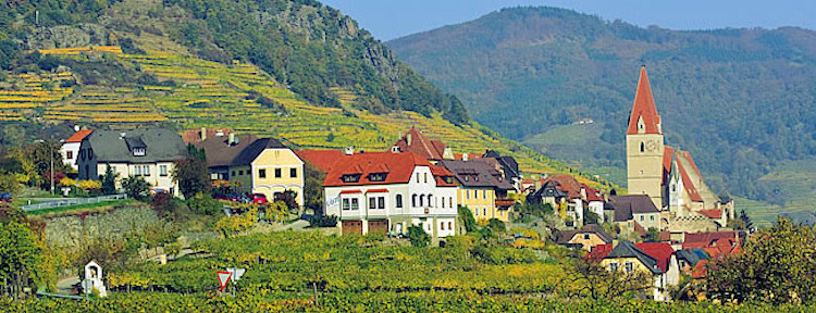 Weissenkirchen in the Wachau region